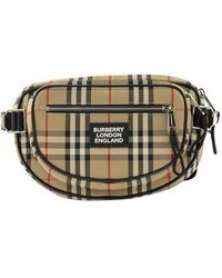 Burberry Vintage Check Canvas Backpack - Multicolour