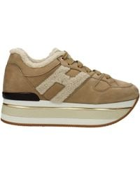 Hogan Sneakers Women Beige - Natural