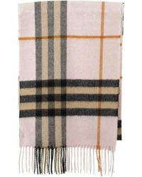 Burberry The Classic Cashmere Scarf In Check - Multicolour