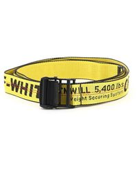 Off-White c/o Virgil Abloh Classic Industrial Belt - Yellow