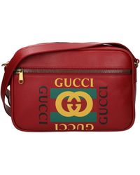 3f46f37a23a Lyst - Gucci Blue Ssima Leather Cross Body Messenger Bag in Blue for Men