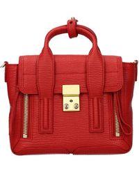 3.1 Phillip Lim Handbags Leather - Red
