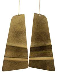 Celine Gold Earrings - Metallic
