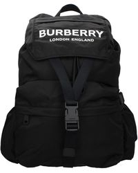Burberry Backpacks And Bumbags Nylon - Black