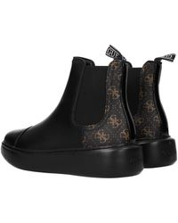 Guess Ankle Boots Polyurethane - Black