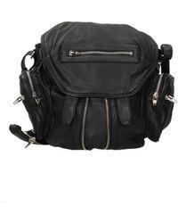 Alexander Wang Black Backpacks And Bumbags