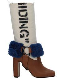 31c7504dafd Boots Women Brown - Blue