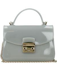Furla Gray Handbags Candy