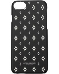 Marcelo Burlon Iphone Cover Iphone7 Men Black