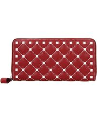 Valentino Wallets Women Red