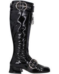 Miu Miu Boots Women Black