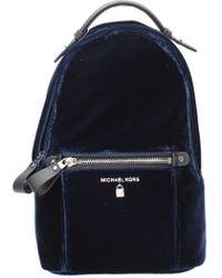 Michael Kors Backpacks And Bumbags Kelsey Women - Velvet (30f8so2n6cadmiral) - Blue