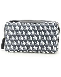 Anya Hindmarch Pouch I Am A Plastic Bag Important Things - Grey