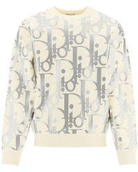 Dior Oblique Reflective Sweater - Multicolor