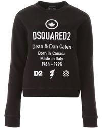 DSquared² Born In Canada Sweatshirt - Black