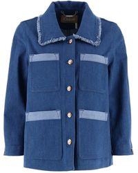 Chloé Denim Jacket - Blue
