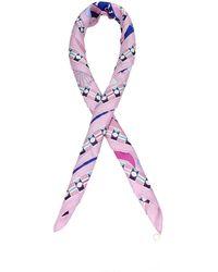 BVLGARI Foulard Silk - Pink
