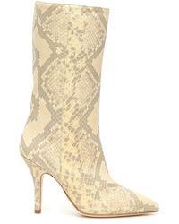Paris Texas Python-print Boots - Multicolour