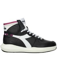 Diadora Trainers Basket Leather - Black