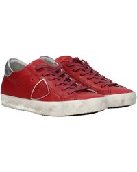 Philippe Model - Sneakers Leather - Lyst