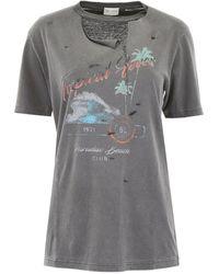 Saint Laurent Paradise T-shirt - Grey