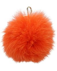 Furla Key Rings Bubble Fur - Orange