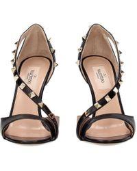 Valentino Garavani Black Sandals