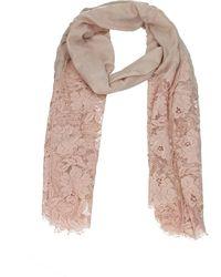 Valentino Valentino Garavani Foulard Modal - Pink