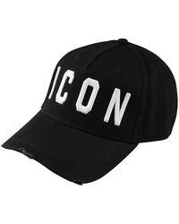 DSquared² Icon Logo Cap - Black