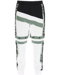 Fendi - Color Block Trousers/shorts - Lyst