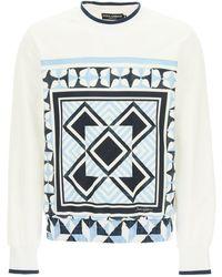 Dolce & Gabbana Majolica Print Sweatshirt - Multicolor