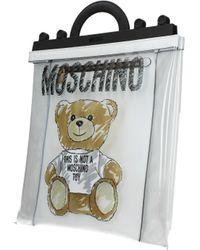 Moschino Transparent Handbags - Black