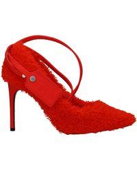 Off-White c/o Virgil Abloh Court Shoes Fur - Orange