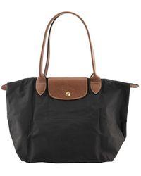 Longchamp Le Pliage Tote Bag S Shoulder Bags - Black