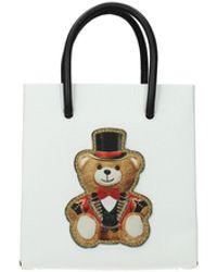 Moschino Handbags Leather - White