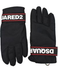 DSquared² Black Gloves