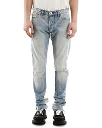 Rhude Ripped Jeans - Blue
