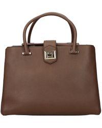 Jimmy Choo Handbags Marianne Women Brown