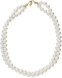 Stella McCartney Necklaces Brass - White