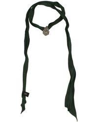 Saint Laurent Necklaces Women Green