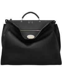 Fendi Handbags Peekaboo Selleria Leather - Black