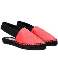 KENZO Espadrilles Leather - Red