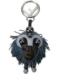 Fendi - Blue Pendants Space Monkey - Lyst