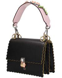 Fendi Shoulder Strap Handle Leather - Pink