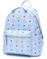 MCM Stark Backpack - Blue