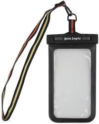 Palm Angels Waterproof Iphone Case - Black