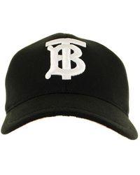 Burberry Monogram Motif Baseball Cap - Black