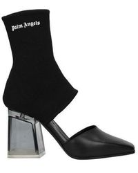 Palm Angels Ankle Boots Women Black
