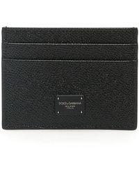 Dolce & Gabbana Logo Cardholder - Black
