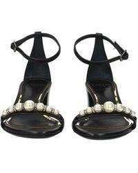 Lanvin Sandals Leather - Black